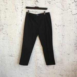 J JILL BLACK CROPPED PANTS 6